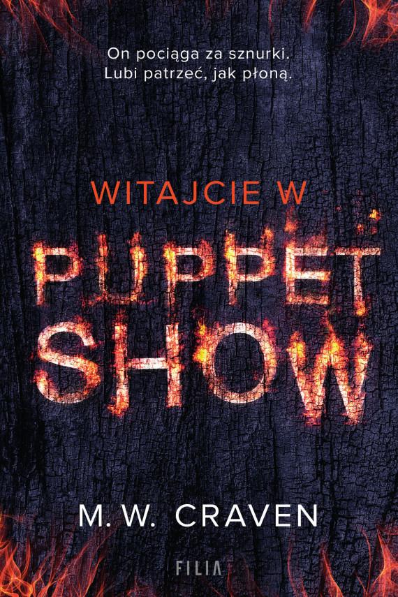 okładka Witajcie w Puppet Showebook | EPUB, MOBI | M.W. Craven, Kinga Markiewicz