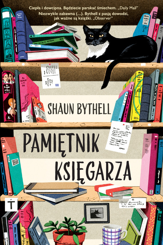 okładka Pamiętnik księgarzaebook | EPUB, MOBI | Dorota Malina, Shaun Bythell
