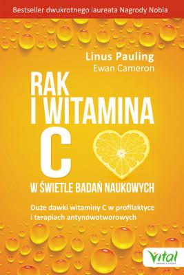 okładka Rak i witamina C w świetle badań naukowych - PDF, Ebook | Pauling Linus