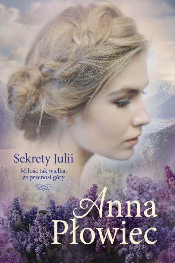 okładka Sekrety Juliiebook | EPUB, MOBI | Płowiec Anna
