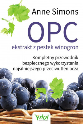 okładka OPC ekstrakt z pestek winogron - PDF, Ebook   Simons Anne