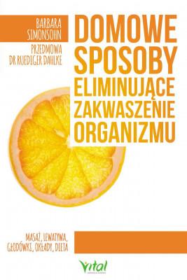 okładka Domowe sposoby eliminujące zakwaszenie organizmu - PDF, Ebook   Simonsohn Barbara