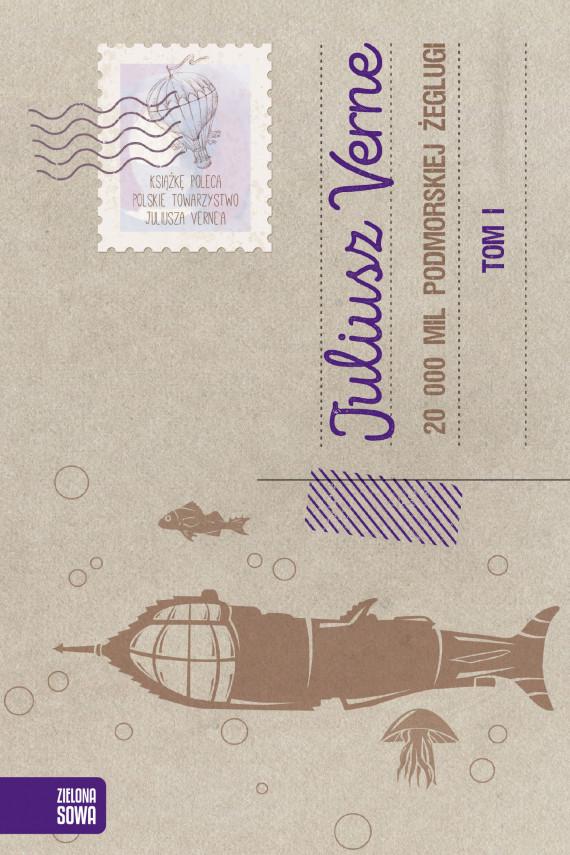 okładka 20 000 mil podmorskiej żeglugi. Tom 1ebook   EPUB, MOBI   Juliusz Verne, Agnieszka Włoczewska