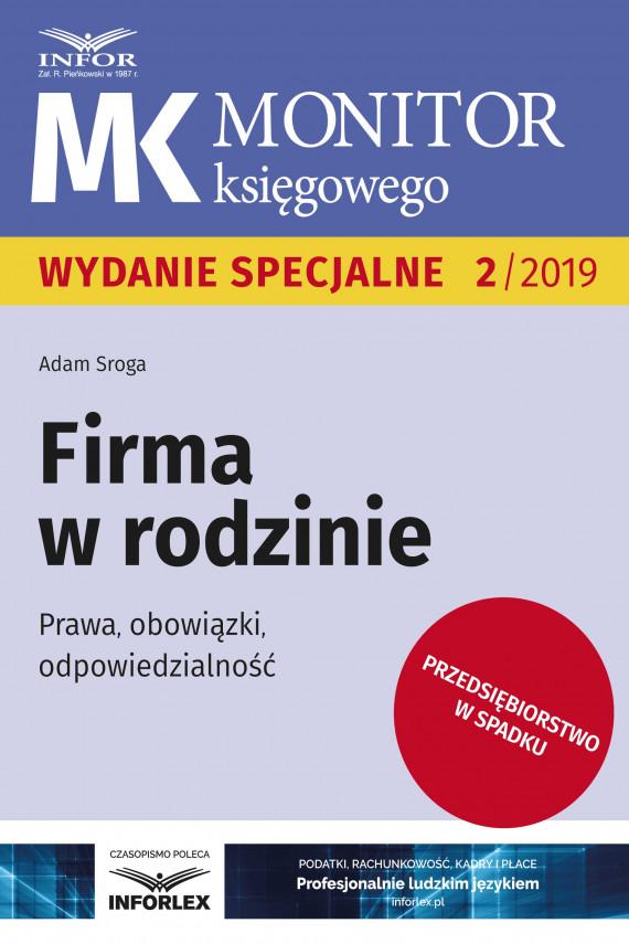 okładka Firma w rodzinieebook | PDF | Adam Sroga