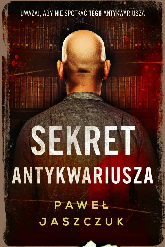 okładka Sekret antykwariuszaebook | EPUB, MOBI | Paweł Jaszczuk