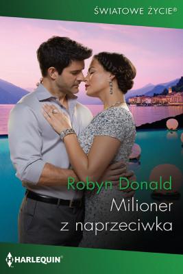 okładka Milioner z naprzeciwka, Ebook | Robyn Donald