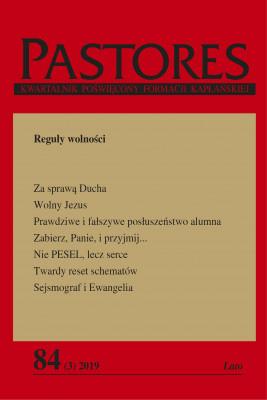 okładka Pastores 84 (3) 2019, Ebook | Zespół Redakcyjny