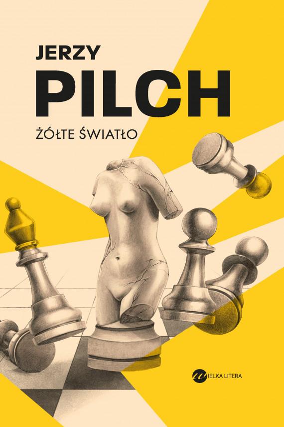 okładka Żółte światłoebook | EPUB, MOBI | Jerzy Pilch