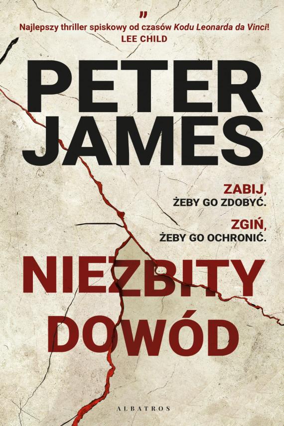 okładka NIEZBITY DOWÓDebook   EPUB, MOBI   Peter James, Izabela Matuszewska