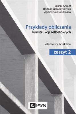 okładka Przykłady obliczania konstrukcji żelbetowych. Zeszyt 2, Ebook | Michał Knauff, Agnieszka Golubińska, Bartosz Grzeszykowski