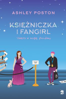 okładka Księżniczka i fangirl, Ebook | Ashley Poston