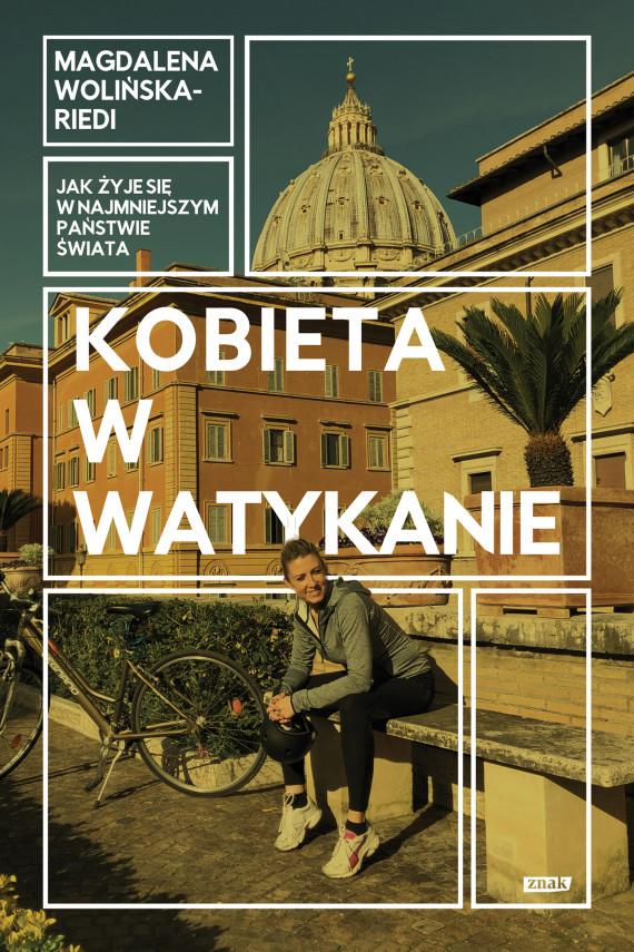 okładka Kobieta w Watykanieebook | EPUB, MOBI | Magdalena Wolińska-Riedi