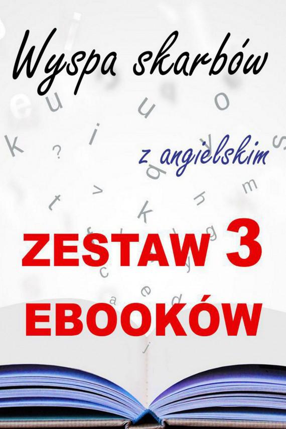 okładka 3 ebooki: Wyspa skarbów z angielskim. Literacki kurs językowyebook   PDF   Robert Louis Stevenson, Marta Owczarek, Arthur Conan Doyle