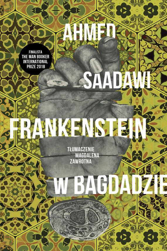 okładka Frankenstein w Bagdadzieebook | EPUB, MOBI | Ahmed Saadawi