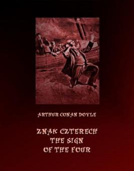 okładka Znak czterech. The Sign of Four, Ebook | Arthur Conan Doyle