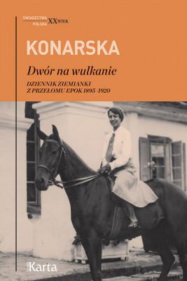 okładka Dwór na wulkanie, Ebook | Janina Konarska