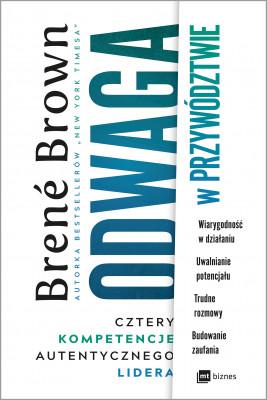 okładka Odwaga w przywództwie, Ebook | Brené Brown