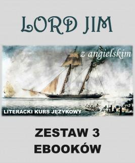 okładka 3 ebooki: Lord Jim z angielskim. Literacki kurs językowy, Ebook | Joseph Conrad, Marta Owczarek, Arthur Conan Doyle