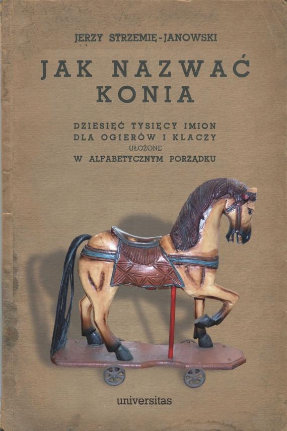 okładka Jak nazwać konia: dziesięć tysięcy imion dla ogierów i klaczy ułożone w alfabetycznym porządkuebook | EPUB, MOBI | Jerzy  Strzemię-Janowski