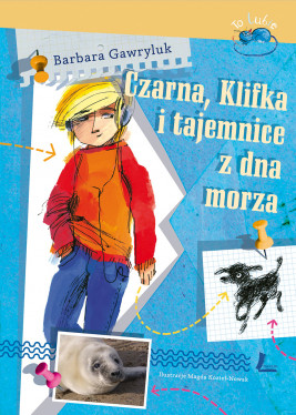 okładka Czarna, Klifkai tajemnice z dna morza, Ebook | Barbara  Gawryluk