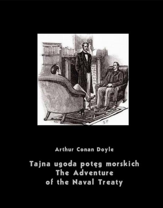 okładka Tajna ugoda potęg morskich. The Adventure of the Naval Treatyebook   EPUB, MOBI   Arthur Conan Doyle