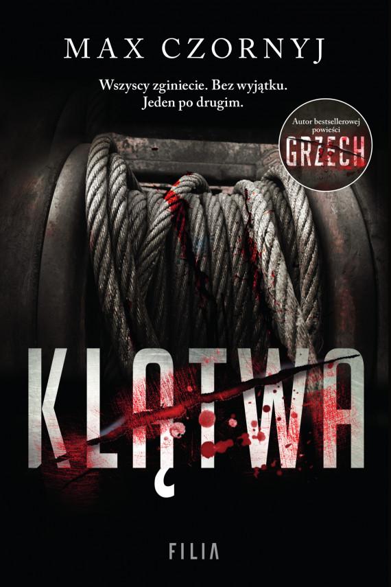 okładka Klątwaebook   EPUB, MOBI   Max Czornyj