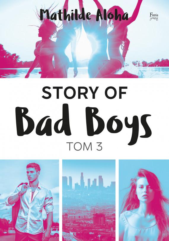okładka Story of Bad Boys 3ebook | EPUB, MOBI | Elżbieta Derelkowska, Mathilde Aloha