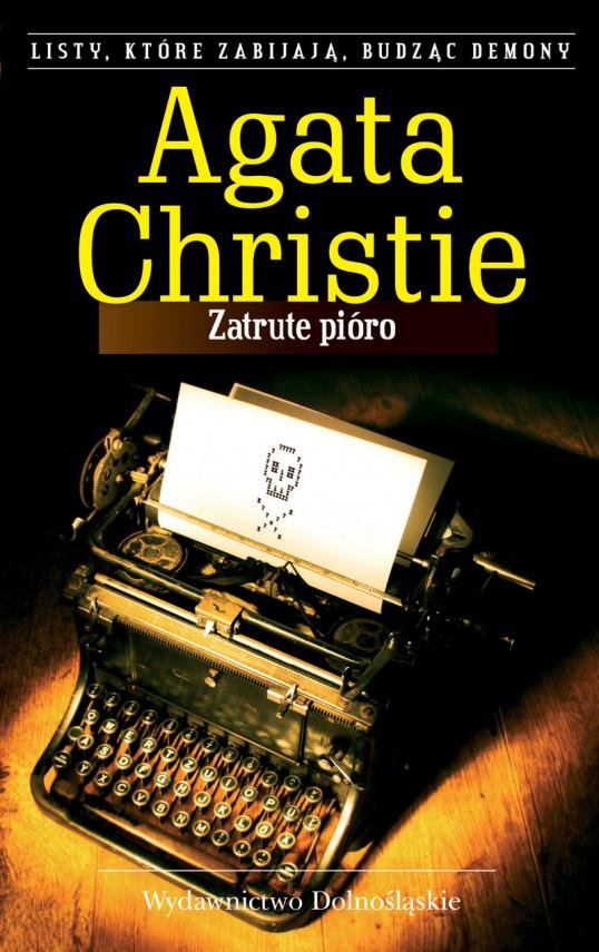 okładka Zatrute pióroebook | EPUB, MOBI | Agata Christie