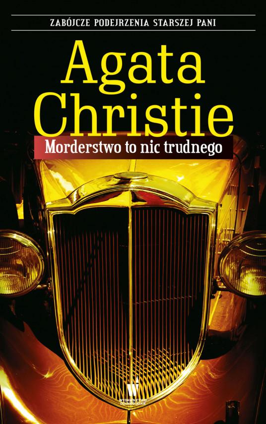 okładka Morderstwo to nic trudnegoebook | EPUB, MOBI | Agata Christie