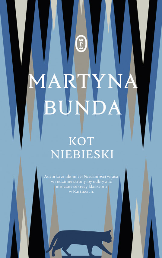 okładka Kot niebieskiebook | EPUB, MOBI | Martyna Bunda