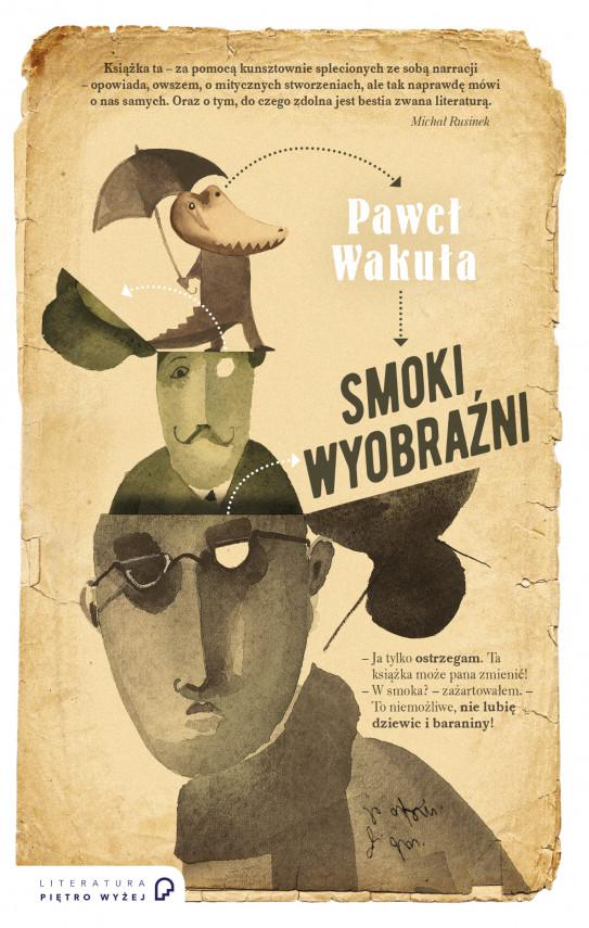 okładka Smoki wyobraźniebook | EPUB, MOBI | Paweł Wakuła
