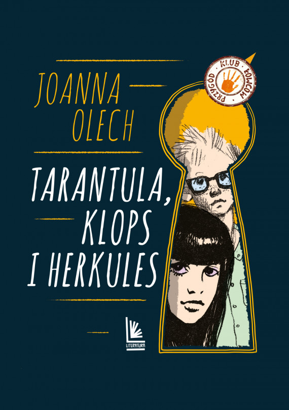 okładka Tarantula, Klops i Herkulesebook | EPUB, MOBI | Joanna Olech