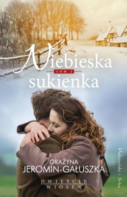 okładka Niebieska sukienka, Ebook   Grażyna Jeromin Gałuszka