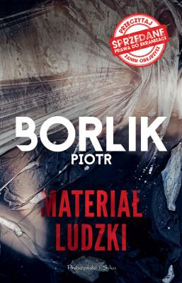 okładka Materiał ludzki, Ebook | Piotr Borlik