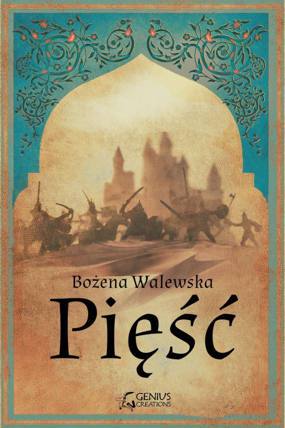 okładka Pięśćebook | EPUB, MOBI | Bożena Walewska