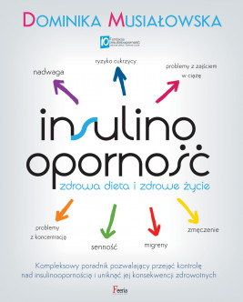 okładka Insulinooporność. Zdrowa dieta i zdrowe życie, Ebook | Dominika Musiałowska