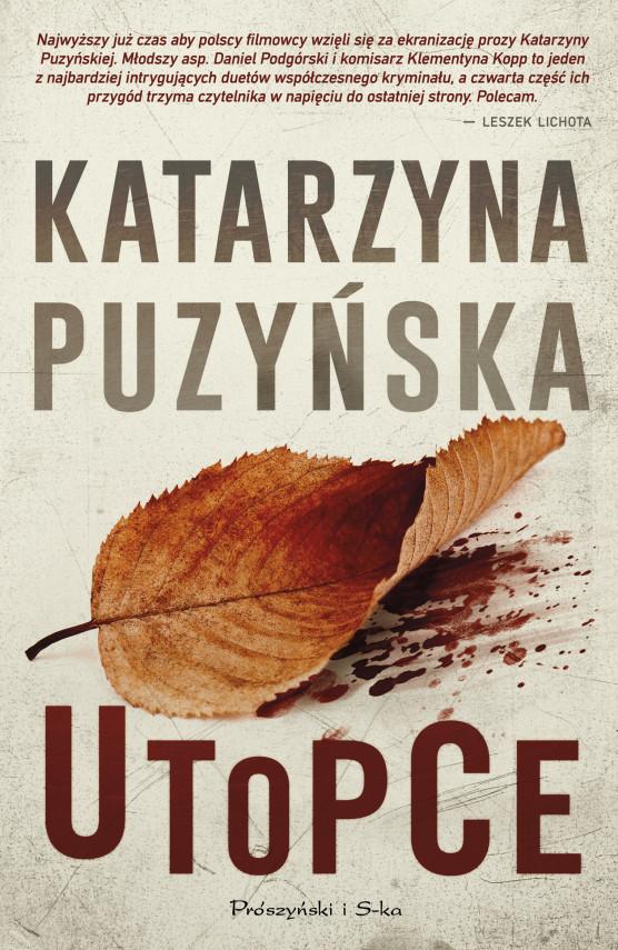 okładka Utopceebook | EPUB, MOBI | Katarzyna Puzyńska