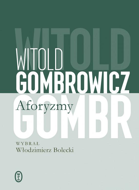 okładka Aforyzmyebook | EPUB, MOBI | Witold Gombrowicz