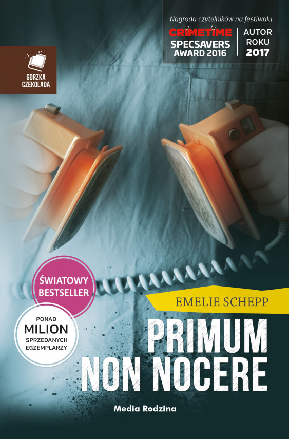 okładka Primum non nocereebook | EPUB, MOBI | Emelie Schepp, Magdalena  Landowska