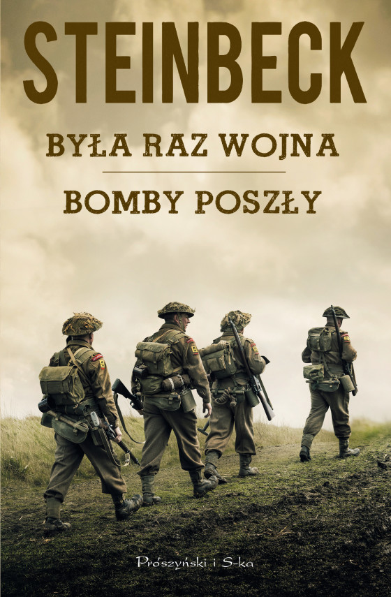 okładka Była raz wojna, Bomby poszłyebook | EPUB, MOBI | John Steinbeck