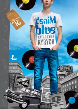 okładka Denim blue, Ebook   Katarzyna  Ryrych