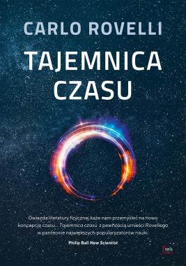 okładka Tajemnica czasu, Ebook | Carlo Rovelli