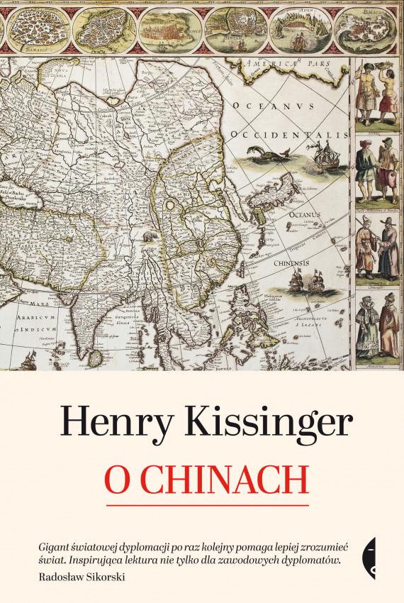 okładka O Chinachebook | EPUB, MOBI | Henry Kissinger