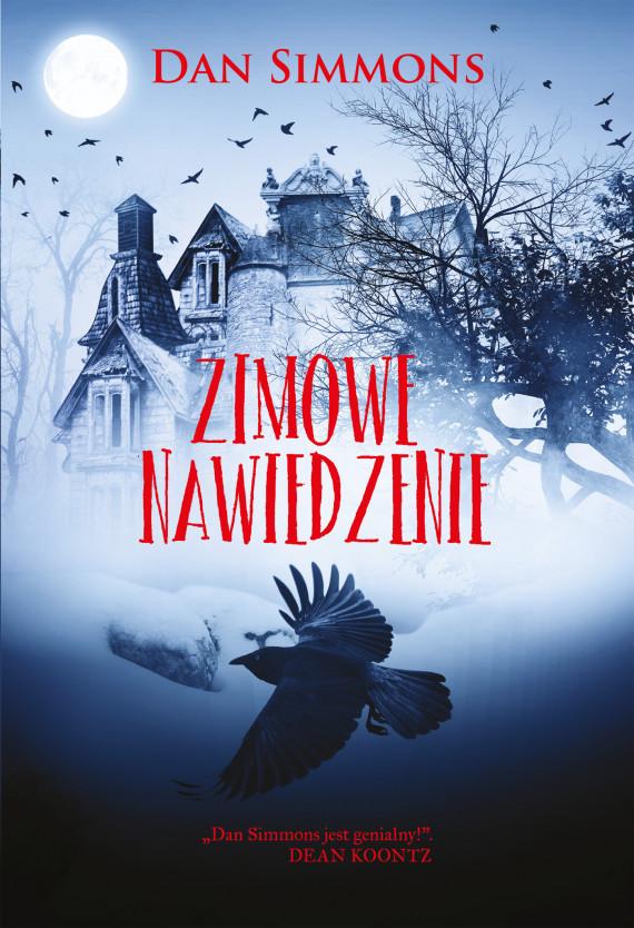 okładka Zimowe nawiedzenieebook | EPUB, MOBI | Mariusz Warda, Dan Simmons