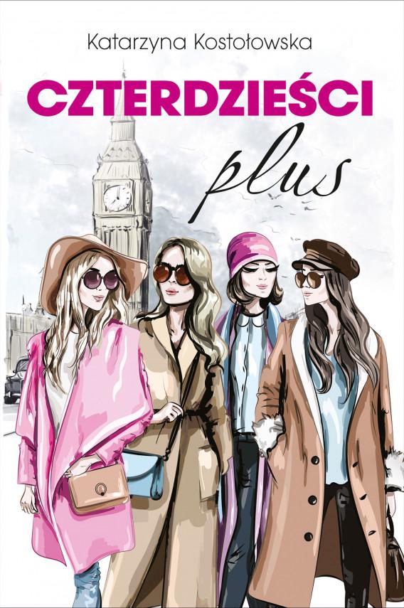okładka Czterdzieści plusebook   EPUB, MOBI   Katarzyna Kostołowska