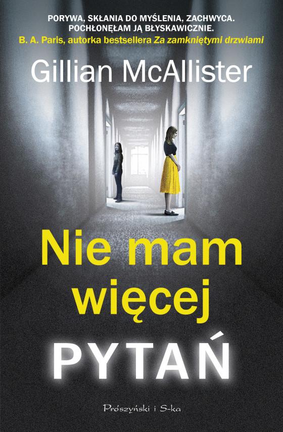 okładka Nie mam więcej pytańebook | EPUB, MOBI | Tomasz Wilusz, Gillian McAllister
