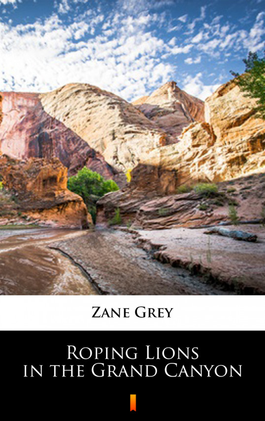 okładka Roping Lions in the Grand Canyonebook   EPUB, MOBI   Zane Grey