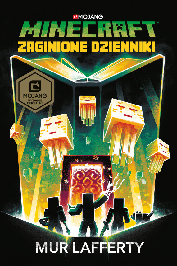 okładka Minecraft. Zaginione dziennikiebook | EPUB, MOBI | Stanisław  Bończyk, Mur Lafferty