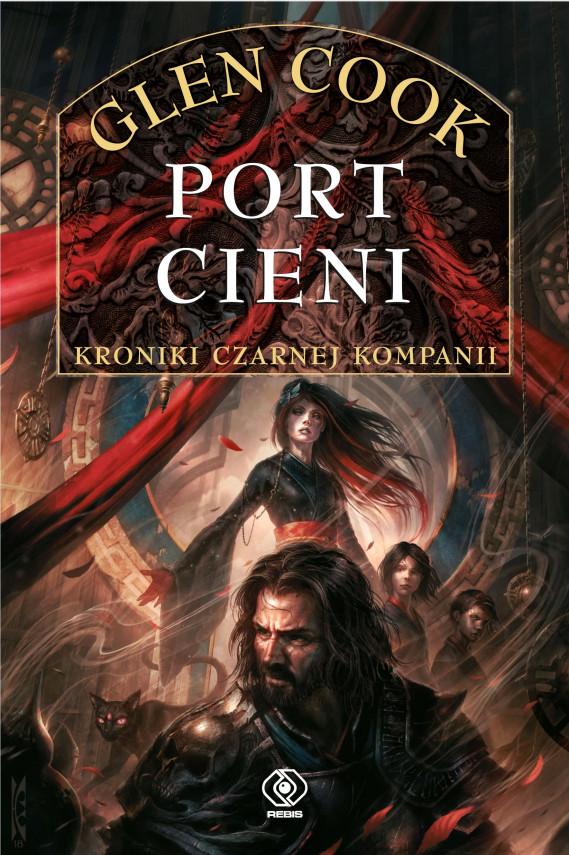 okładka Czarna Kompania (Tom 5). Port Cieniebook | EPUB, MOBI | Tomasz Nowak, Glen Cook