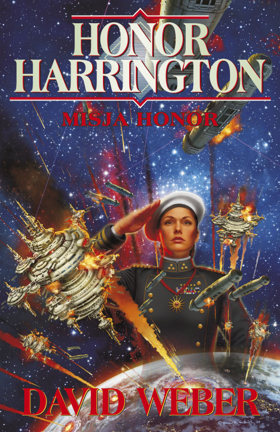 okładka Honor Harrington (#18). Misja Honorebook | EPUB, MOBI | David Weber, Jarosław Kotarski, Anna Poniedziałek